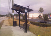 Custom Transit Shelter