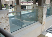 Exterior Glass Rail System