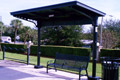 Custom Fabrication of a Steel Transit Shelter with Aluminum Scrollwork