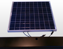 Custom Fabricated Solar Lighting Kit with Custom Light Box Enclosure