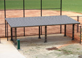 Softball Field Dugout